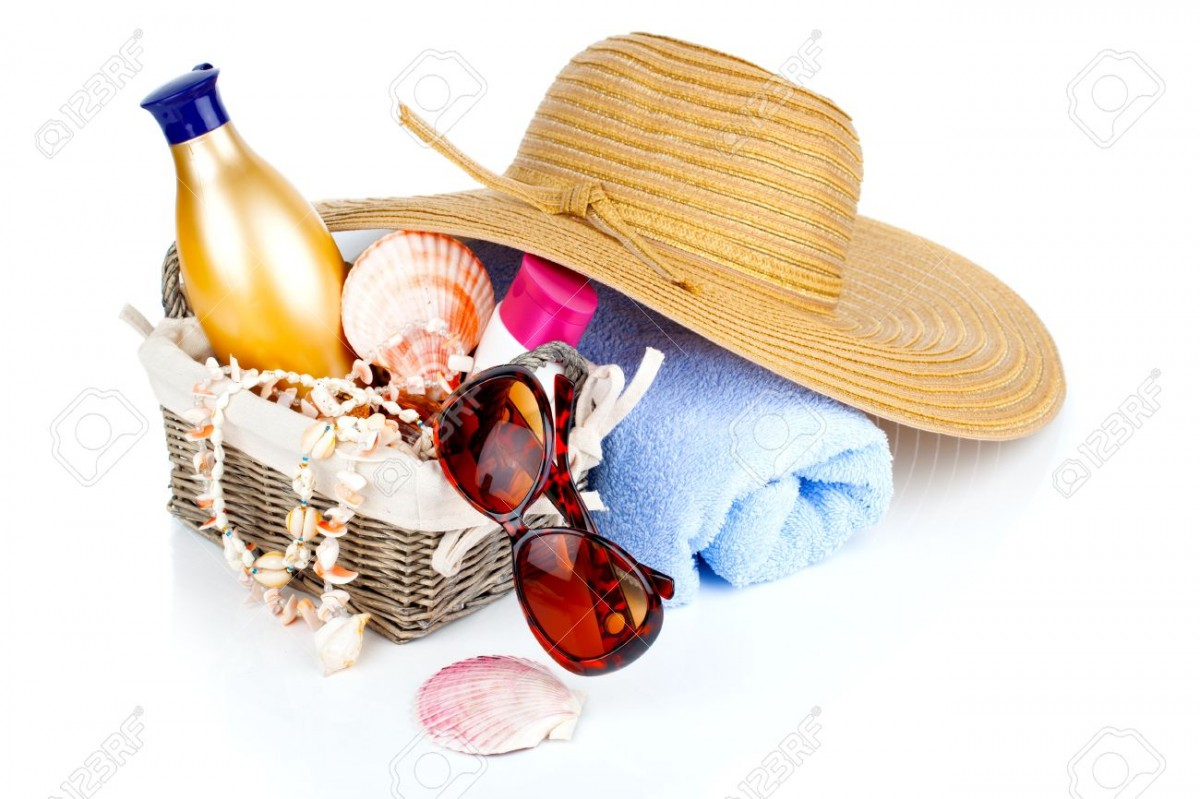 18514084-women-s-accessories-for-outdoor-relaxation-beach-items-isolated-on-white-background-summertime-vacat
