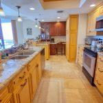 Unit #501 kitchen